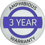 3 Year Amphibious Warranty Icon