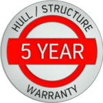 5 Years Hull Warranty Icon